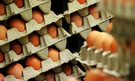 Eggs from Germany have caused a health scare