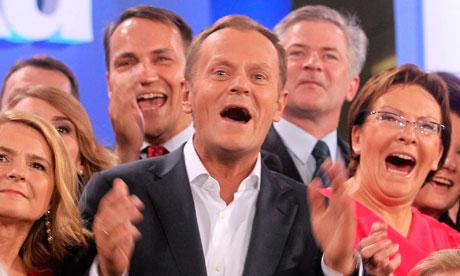 Poland's Prime Minister Donald Tusk