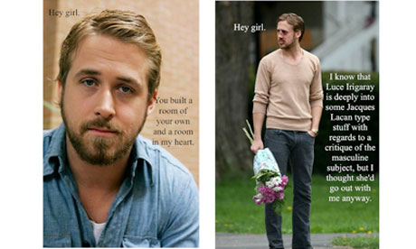 Some offerings from Feminist Ryan Gosling