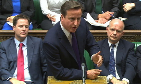 David Cameron at the EU referendum debate