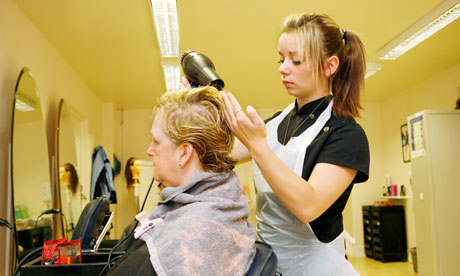 ... or simply hairdresser hairdresser a good hairdresser to give