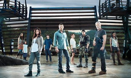 The cast of Terra Nova