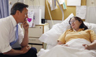 David Cameron visits University College Hospital