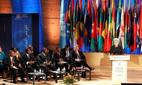 The Unesco executive meets in Paris