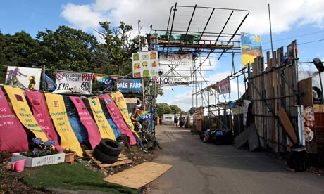 Travellers eviction at Dale Farm