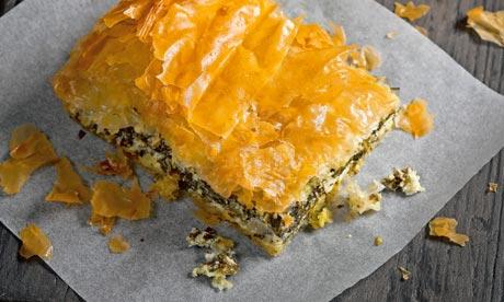 Short article about spanakopita recipe hugh