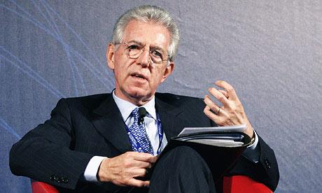 Mario Monti, a former EU commissioner, has Silvio