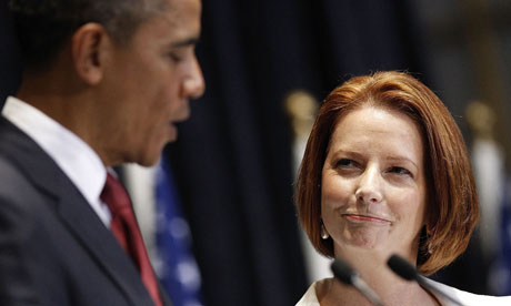 gillard obama flirting Guest essay by eric worrall back in march wuwt reported how president obama transferred $500 million to the un green fund on a per capita basis it pales into insignificance to the $140m donated to the clinton foundation by our last socialist prime minister julia gillard, who, surprise, surprise, got a.