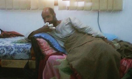 Saif al-Islam gaddafi captured