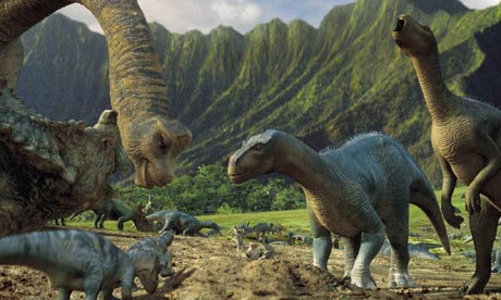 dinosaurs (from the film Dinosaur)
