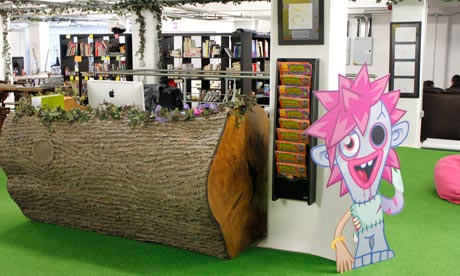 Inside the Moshi Monsters HQ, Shoreditch, London