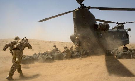 British troops in Helmand