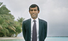Mohamed Nasheed is 'great', according to David Cameron