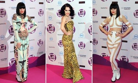 Jessie J at the MTV Europe Music Awards