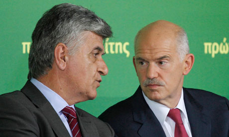 Philippos Petsalnikos with George Papandreou