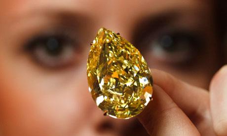 expensive diamonds, sun drop diamond