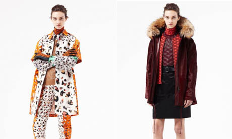Pringle composite from their pre-fall 2012 collection