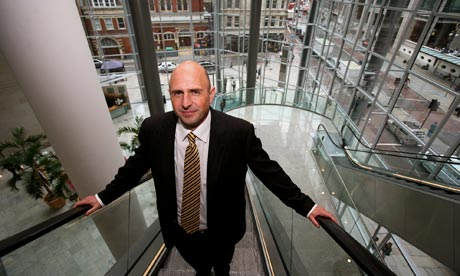 Adam Applegarth, former chief executive of Northern Rock