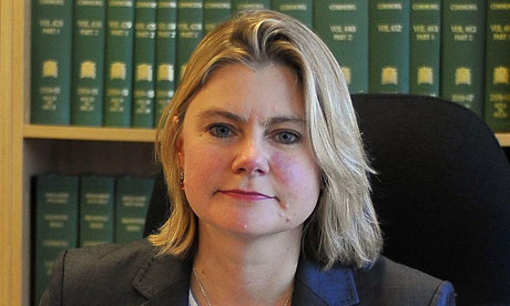 Justine Greening: mind your adverbs