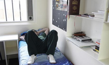 Teenage prisoner