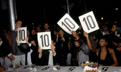 Vogue: Generous scoring by the judges at the Tanqueray Ball Aids Benenfit, 1990