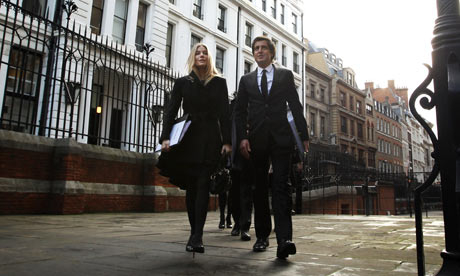 Sienna Miller at the Leveson inquiry