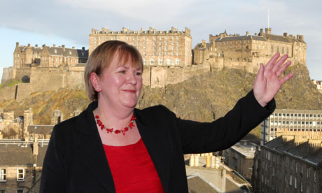 Scottish Labour Party leader Johann Lamont