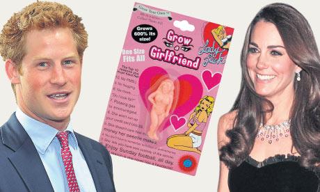 Kate's Christmas present to Harry, according to Grazia