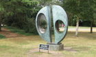 Barbara Hepworth's Two Forms (Divided Circle)