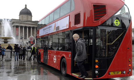 New double-decker buses