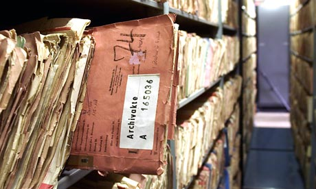 The archive of Stasi files, held in Berlin, is open to the public and academics