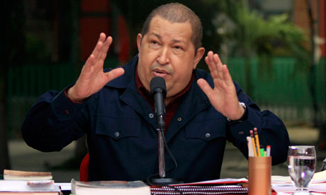 Venezuela's President Hugo Ch&amp;aacute;vez