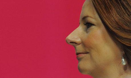 Julia Gillard at the ALP conference