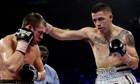 BRANDON RIOS overwhelms a determined John Murray | Sport | guardian.