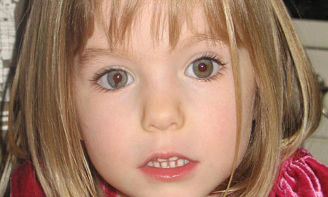 Madeleine McCann was nearly four when she went missing in 2007.