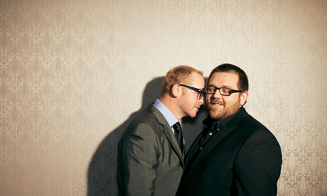 Hollywood is gay, Simon Pegg and Nick Frost: Losers in ...