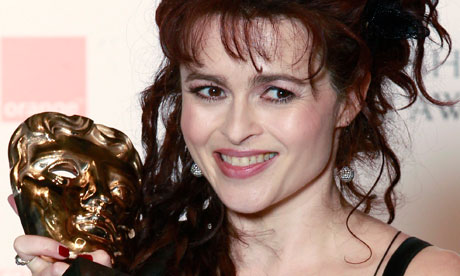 Helena Bonham Carter at the BAFTA awards ceremony