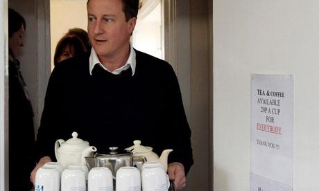 David Cameron, April 2010