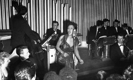 Billie Holliday in concert, 1954