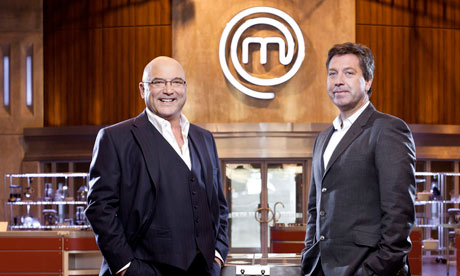 Gregg Wallace and John Torode of MasterChef