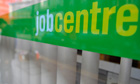 A job centre in London