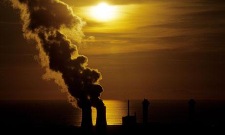 Estaciones de energía nuclear de Sellafield, en Cumbria, Inglaterra
