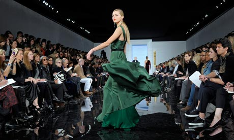 Ralph Lauren presents his Autumn 2011 collection at New York Fashion Week