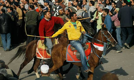 Egypt protests: Mubarak shows his dark side Hosni-Mubarak-supporters-007