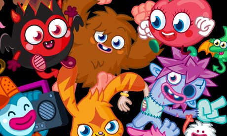 Moshi Monsters…played by half