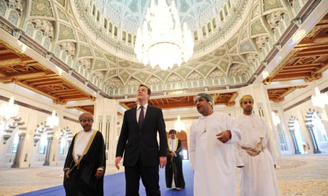 David Cameron in Oman
