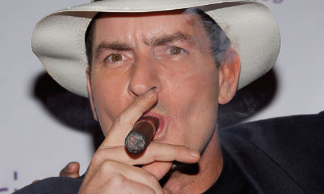 Charlie Sheen. Charlie Sheen earned a