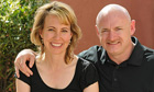 Gabrielle Giffords with her husband, Nasa astronaut Mark Kelly, in April 2010.