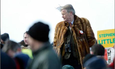 A bookmaker in a fur coat