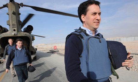 Ed Miliband visit to Afghanistan